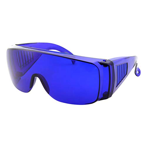 Golfball Finder Glasses - Blue Lens Cover Over...