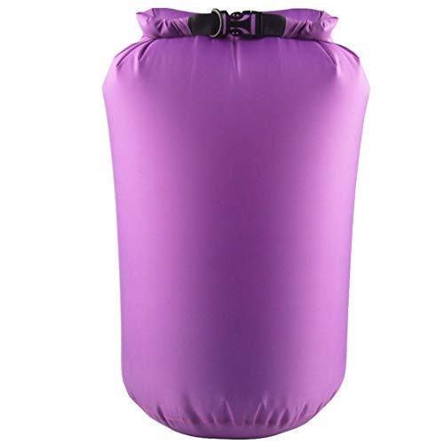 Bolso seco impermeable de tapa deslizante en seco compresión Saco de Rafting canotaje que va de excursión 40L