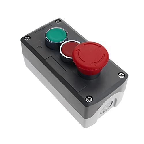BeMatik - Caja de Control con Dos pulsadores...