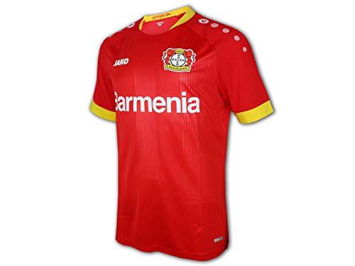 JAKO Bayer 04 Leverkusen Trikot Away 2020/2021 Herren rot/gelb, L