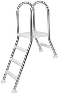 Escalera Puente semielevada de acero inoxidable para piscinas elevadas Flexinox - 87143418 - 1/4: Amazon.es: Hogar