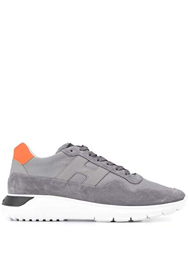 Hogan Luxury Fashion Herren HXM3710AJ18N8D812X Grau Sneakers  