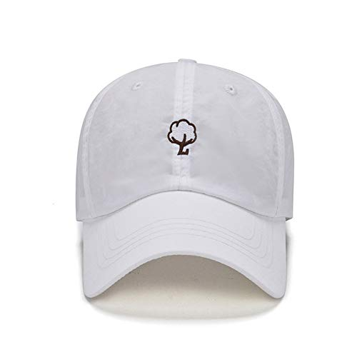 Nuevos Sombreros de Secado rápido para Hombres y Mujeres de Verano Gorras de béisbol con Bordado de Personalidad de cúpula sombrilla y Gorra de protección Solar