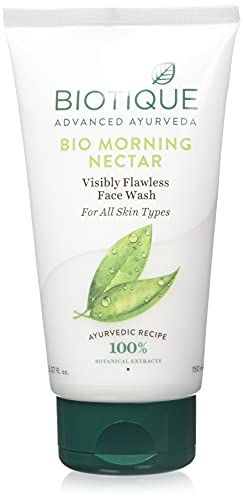 Biotique Morning Nectar Flawless Face Wash, 150ml