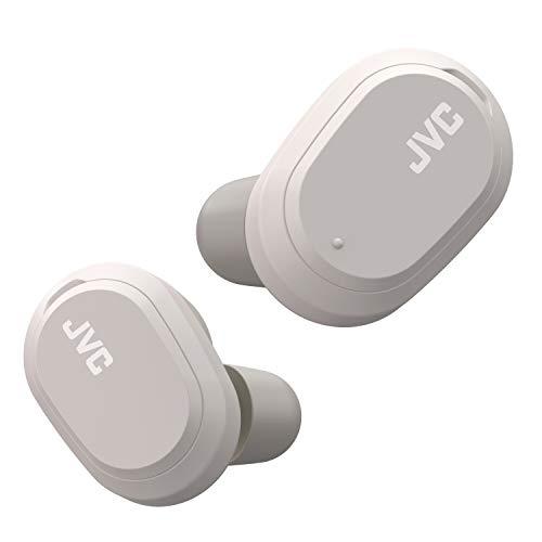 JVC HA-A50 T - Auriculares inalámbricos True con Caja de Carga USB, con función de cancelación de Ruido, IPX4, Color Gris