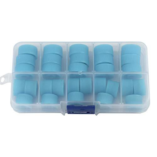Guangcailun Tapas de 30pcs / Set refrigerante del Aire Acondicionado Precios Promedio de Kit de Coche de A/C de Alta Lado bajo del Polvo