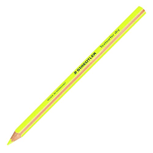 Staedtler Textsurfer dry 1Stück (S)–Bleistift (gelb, 8mm, 4mm, 1Stück (S))