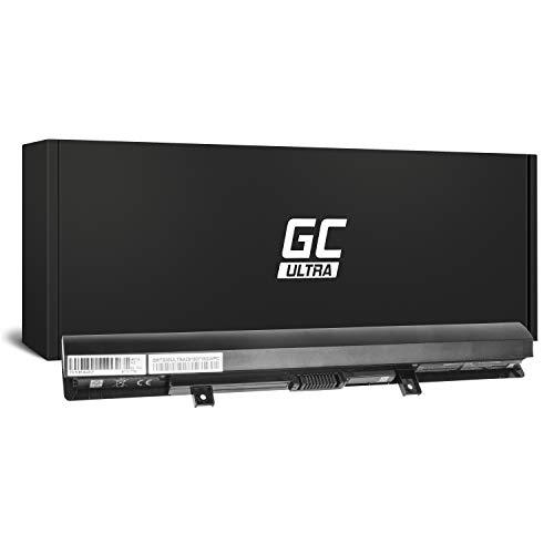 Green Cell® Ultra Serie PA5185U-1BRS PA5186U-1BRS Batería para Toshiba Satellite C50-B C50D-B L50-B L50D-B L50T-B Ordenador (Las Celdas Originales Panasonic, 3400mAh, Negro)