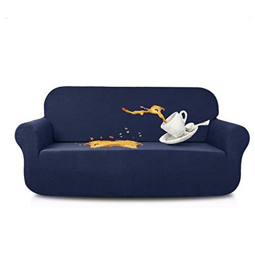 N\C XIKUO Funda de sofá elástica Fundas de sofá repelentes al Agua Perro Gato Fundas de sofá a Prueba de Mascotas Protectores