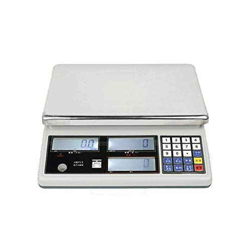 Great Deal! ZYY Electronic Digital Scales,Industrial Counting Point Table Docking Stylish Cooking ...