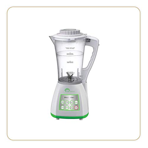 LITTLE BALANCE 8170 Happy Blend - Blender chauffant - 8 programmes pré-réglés, chaud ou froid - Soupes, Cuisson vapeur, Smoothies, Glace pilée - 1200 W - Blanc