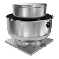 """Fantech 5BDU20GB-A Roof Fan, Belt Drive Upblast, 1-1/2 hp, 115/230V, 1 Ph, ODP, 20"""""""