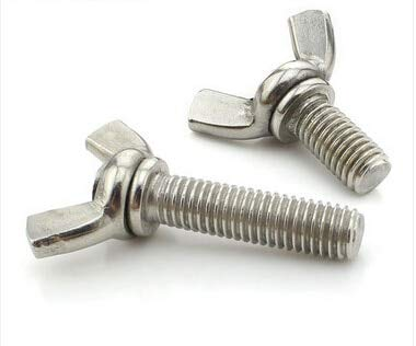 BOL-01246 20pcs M4x35mm Milwaukee Mall Stainless Recommendation Steel Bolt Wing Butterfly