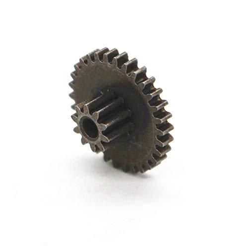 Yongenee 0,5 M 0,5 M dúplex de Engranajes 10T 30T de Engranajes de Doble Bricolaje Caja de Cambios de 2 mm de diámetro del Agujero Herramienta (Hole Diameter : 2.0mm, Number of Teeth : Height 5mm)