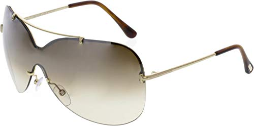 Tom Ford Ondria FT0519 C00 28F (shiny rose gold / gradient brown) Sonnenbrillen