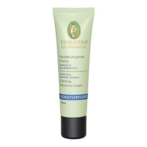 PRIMAVERA Sensitivpflege Hautberuhigende Creme Manuka Borretsch 30 ml - Naturkosmetik - schützend, stärkend, feuchtigkeitsspendend, für sensible Haut - vegan