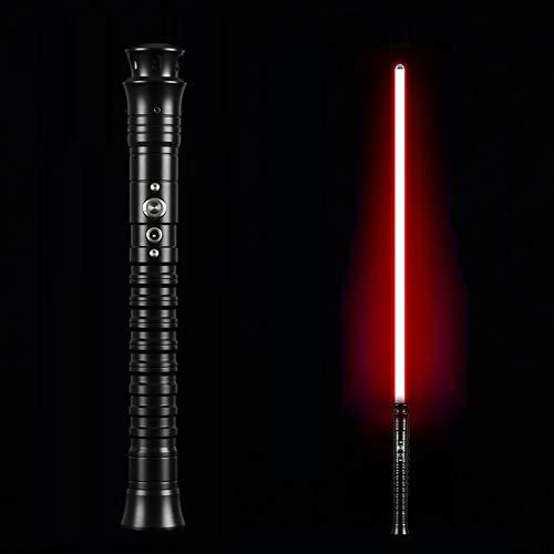 SenLing Lichtschwert Mit Metallgriff, Spielzeugschwert Mit Leuchtendem Soundeffekt