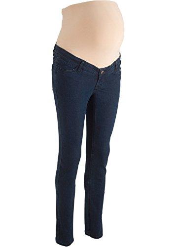 Umstandsjeans Stretch-Jeans für Schwangere m. Bauchband Damenjeans Jeanshose (50)