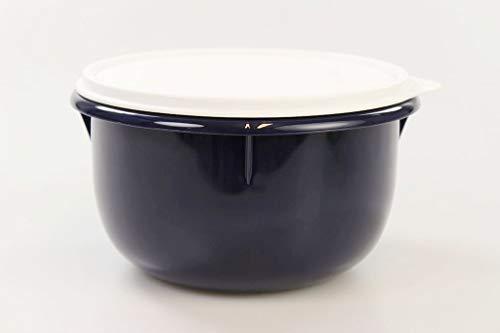 TUPPERWARE Rührschüssel PENG 2,0 L dunkel blau mixing bowl Germteig Hefeteig