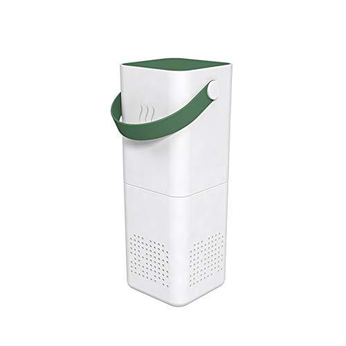Luchtreiniger Filter Ionisator Allergeen Bloemstof Schadelijk Huidschilfers Roet Pm2.5 Eliminator Luchtverfrisser,Dark green