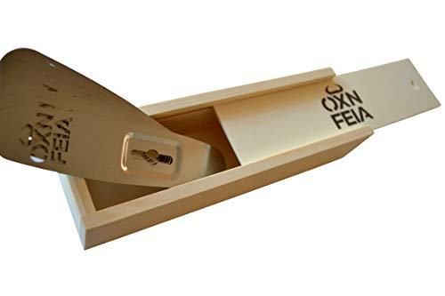 Oxnfeia® Feuerzangen 10 Stück mit...