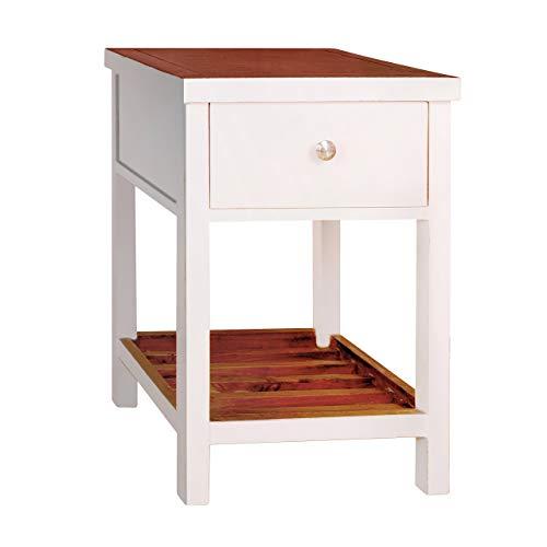 Porthos Home Tonality Designs Pari Classic Side Table, White