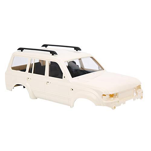 VGEBY Carcasa del Cuerpo RC, 190 mm Durable Alta simulación 1:16 Escala Control Remoto Carcasa de plástico Carcasa de plástico RC Accesorio de Repuesto para WPL 1/16 C14 C24 RC Toy Car(Segundo)