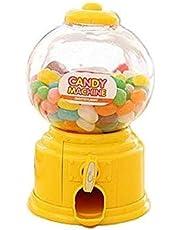 Mini Candy Machine Gumball Machine Piggy Bank Money Box   Yellow