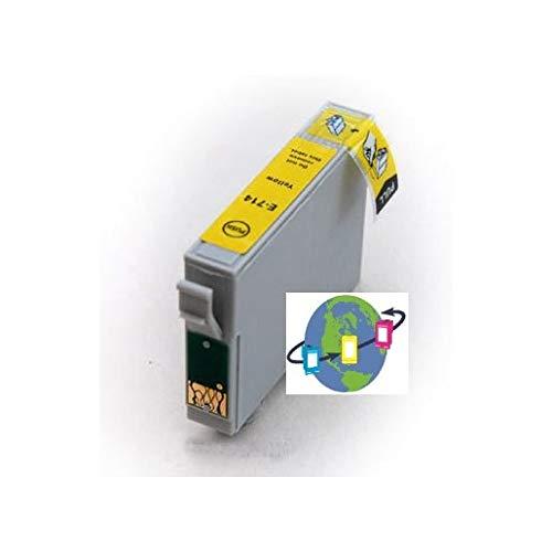 T0714 - Cartucho de Tinta Compatible con Epson (Amarillo)