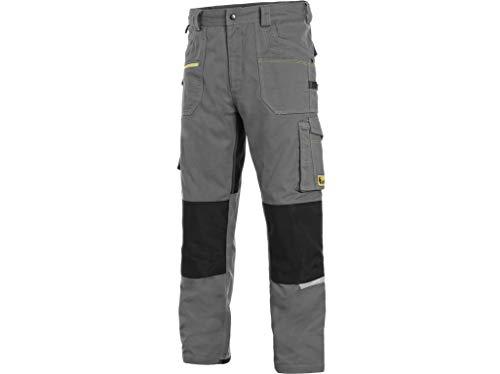 CXS Stretch - Herren Cargohose, Arbeitshose für Herren - Hochwertige, komfortable und atmungsaktive elastische Arbeitshose für Herren mit modernem Schnitt (Größen: 46-64)