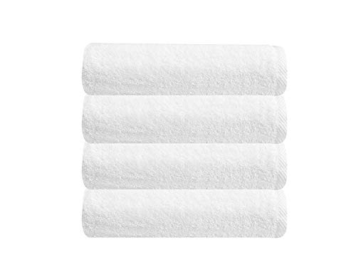 Classic Turkish Towels Quick Dry Bath Towels - Thick Soft Hotel and Spa Collection Terry Cloth Bathroom Set Made with 100% Turkish Cotton (24 x 48)