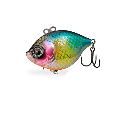 OPLKJ Señuelo de Pesca DK5 55mm 18g Wobbler hundido Vib Nuevo diseño de natación de Doble acción para Perca de Trucha Bass-55mm 13g Color 22