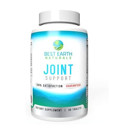 Joint Support- Glucosamine, Chondroitin, MSM & Special Vitamins & Nutrients for Back, Hip & Joint Support - Joint Supplement for Healthy Joints, Muscle Mobility & Flexibility