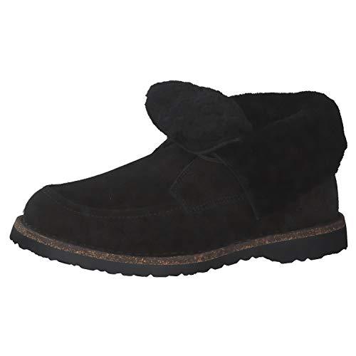 BIRKENSTOCK Damen Boots Bakki VL Black Hydrophobic 38