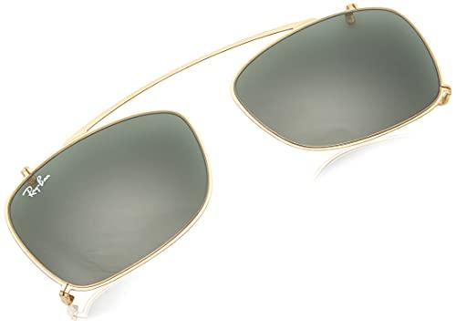 Ray-Ban 0Rx5228C, Monturas de Gafas para Hombre, Gold, 55