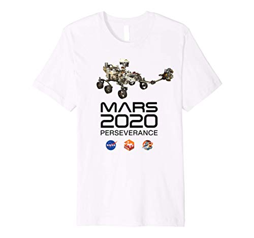 Mars 2020 Perseverance Rover Mission Patch Logo JPL Insignia Premium T-Shirt