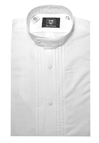 Orbis Textil Stehkragen Schlupfhemd Weiss Comfort Fit L