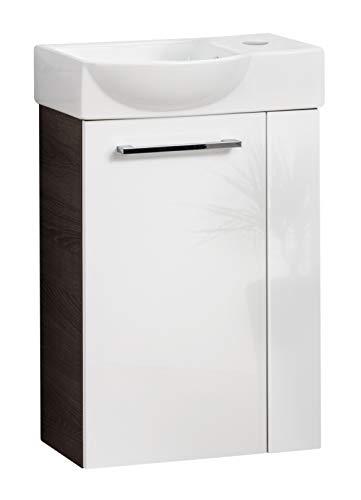 Fackelmann Waschbecken/Waschbeckenunterschrank mit