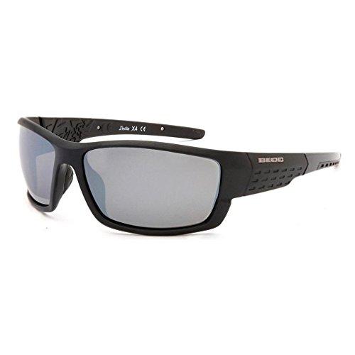 BLOC Herren-Sonnenbrille Delta Schwarz