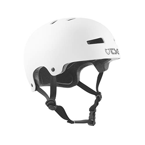 TSG Kinder Evolution Solid Color Helm, Satin White, XXS/XS
