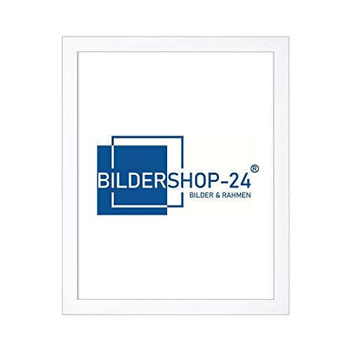 Bildershop-24 Cadre Photo Monza 60 x 84 cm Blanc (Mat)