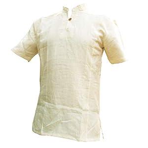 Hanf Hemden100% Natur Hanf - M, L,XL und XXL - PANASIAM Fischerman