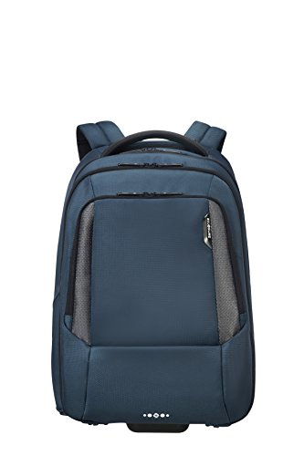 """SAMSONITE Cityscape Tech Wheeled Backpack for 17.3"""" Laptop Mochila Tipo Casual, 48 cm, 30 Liters, Azul (Space Blue)"""