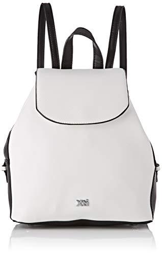 XTI 86255.0, Bolso mochila para Mujer, Blanco (Blanco), 26x30x13 cm (W x H x L)