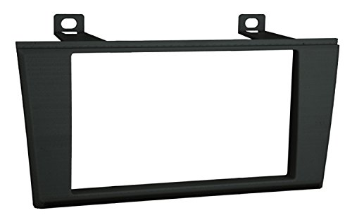 Metra 95-5000B Double DIN Installation Dash Kit for 2000-2006 Lincoln LS or 2002-2005 Ford T-Bird (Black, Silver)
