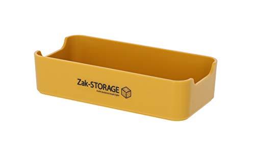 高儀(Takagi) Zak-Storage 収納プラスチックトレー イエロー M