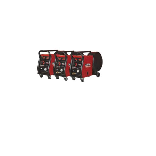 Lincoln Electric K14066-1W omschakelapparaat met 4 wielen, water/gas gekoeld