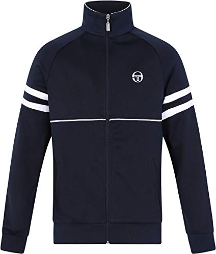Sergio Tacchini Herren Orion-Trainingsjacke, Blau, Medium