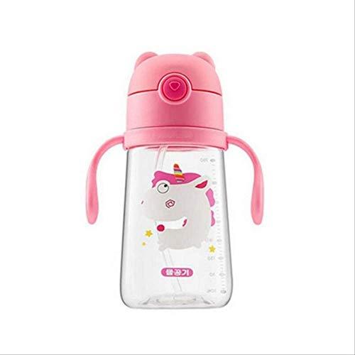22222Tasse stück trinkwasser tassen zähne putzen waschen Tasse Kinder Baby Milch Tasse mit Griff Tasse frühstück D7-400ml