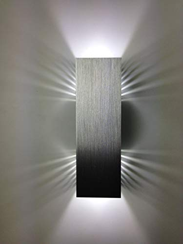 SpiceLED applique | ShineLED-14 | 2x7W bianco | Effetto ombra | Lampada da parete a LED ad alta potenza dimmerabile